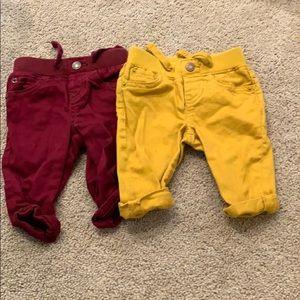 Boys baby gap pants size 0-3 month